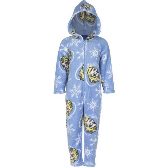 Fleece onesies Frozen blauw