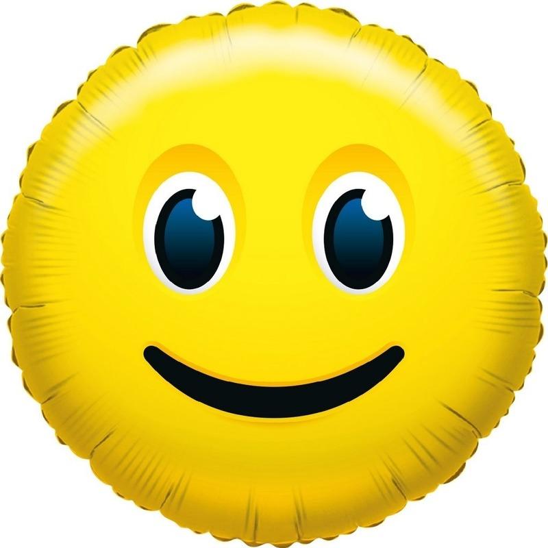 folie-ballon-glimlach-smiley-35-cm