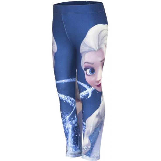 Frozen legging blauw voor meisjes
