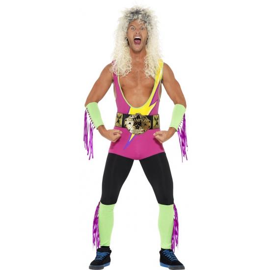 Funny worstelaars pak voor heren