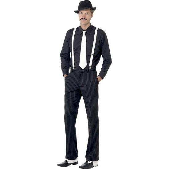 Gangster verkleedset voor heren