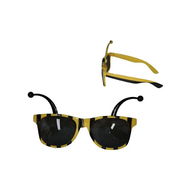 Gele bijen zonnebril