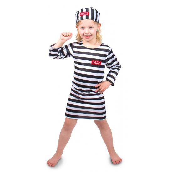 Gevangene kostuum voor meisjes Geen beste prijs