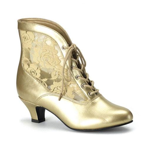 Gouden middeleeuwse schoenen