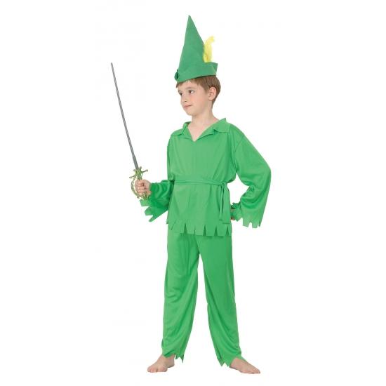 Groen elfen kostuum voor kids Carnavalskostuum winkel Fantasy en Sprookjes kostuums
