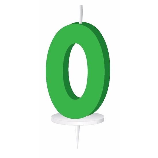 groen-letterkaarsje-met-houder-o