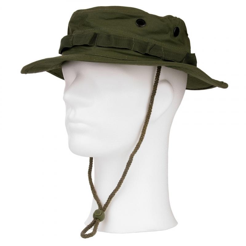 Hoeden petten caps Groen ripstop safarihoedje