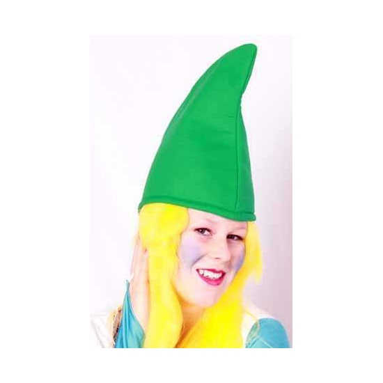 Feest hoeden Geen Groene kaboutermuts 57 cm