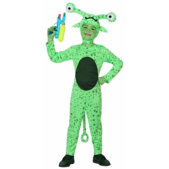 Fantasy en Sprookjes kostuums Atosa Halloween Alien Crypto kostuum voor jongens