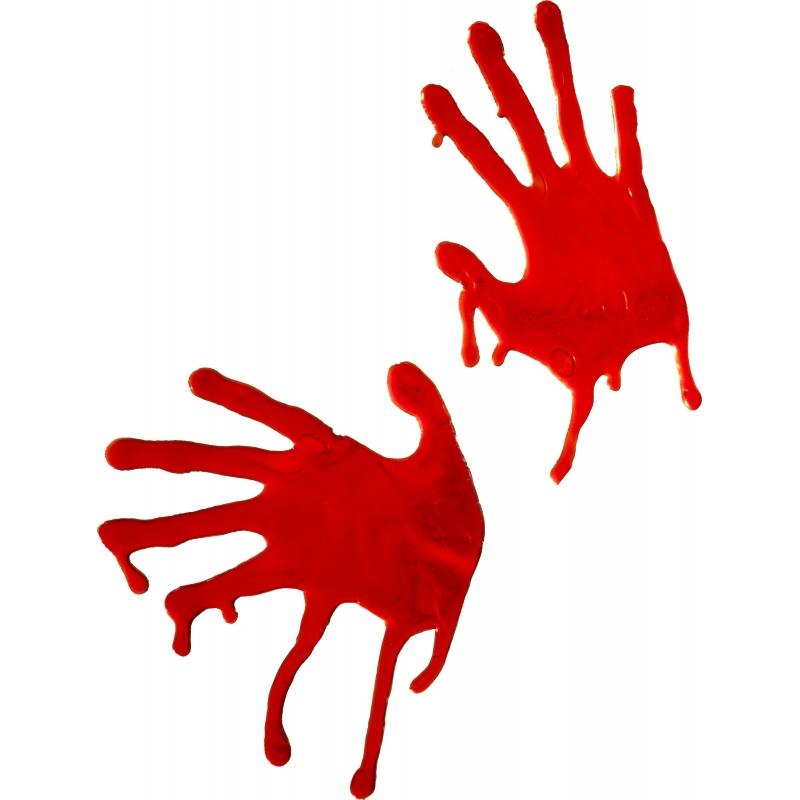 Halloween - Bloedige handafdrukken