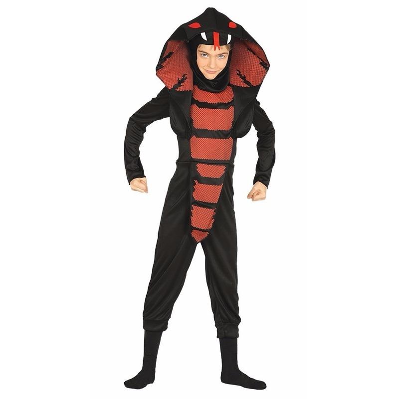 Halloween - Cobra ninja slangen kostuum voor jongens