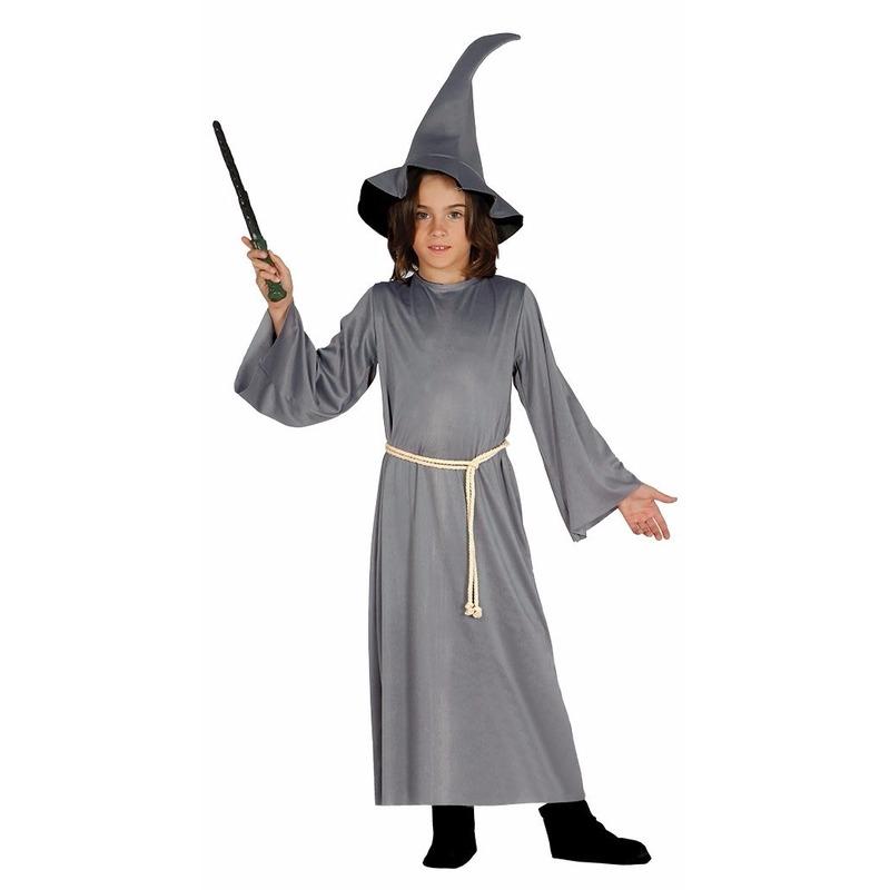 Halloween Grijze tovenaars cape voor kinderen Geen Soorten kostuums