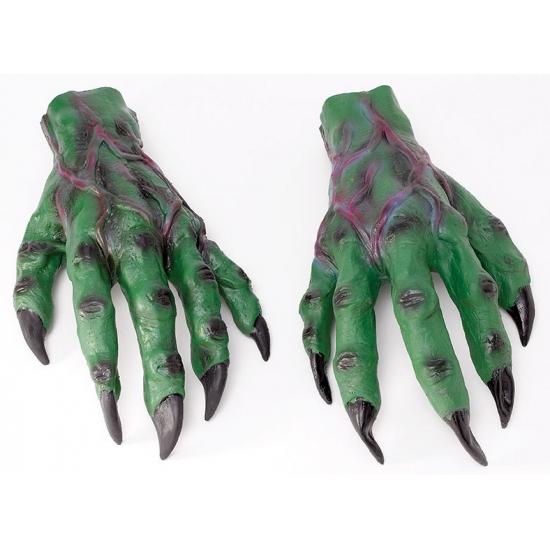 Halloween - Groene horror handen