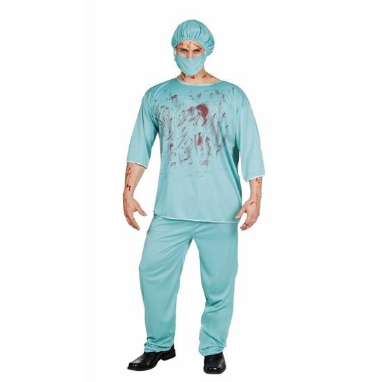 Halloween - Halloween bloederige chirurg kostuum heren