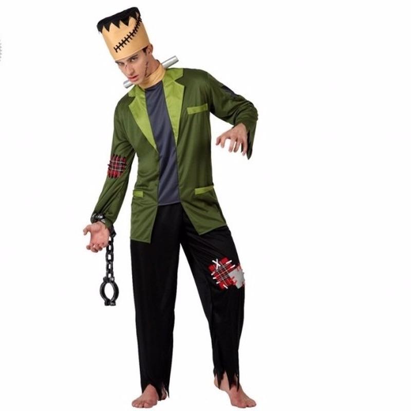 Halloween - Halloween Frankenstein kostuum voor volwassenen