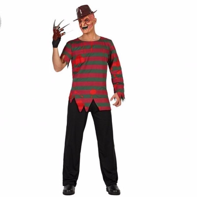 Halloween - Halloween Freddy kostuum voor volwassenen