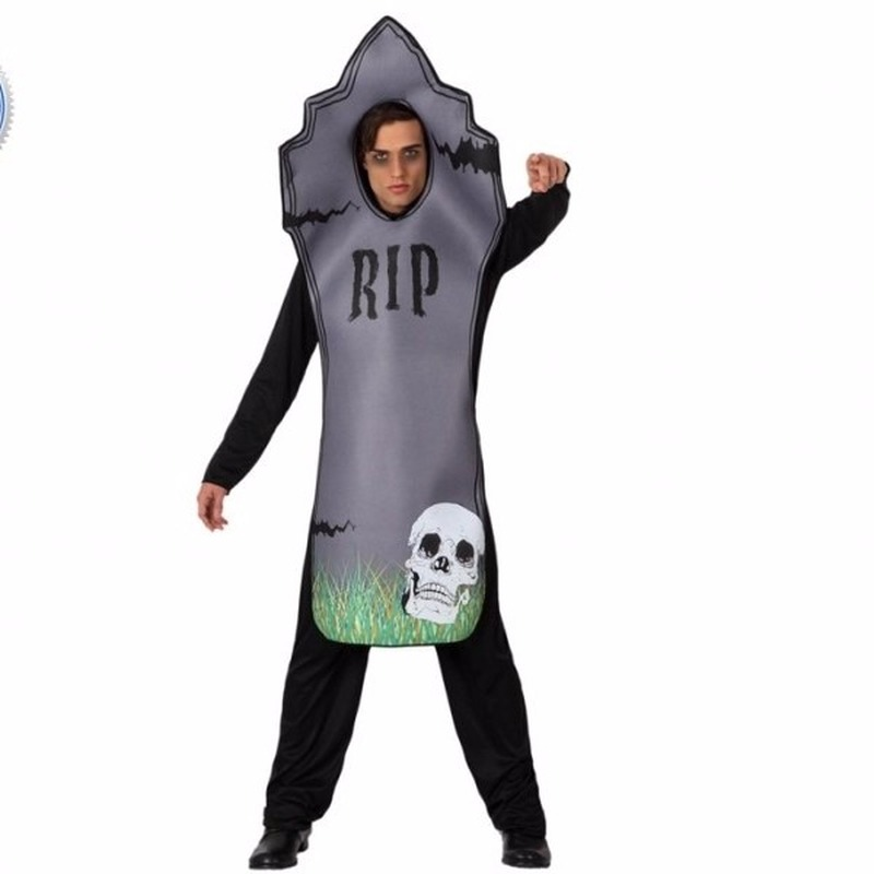 Halloween - Halloween Grafsteen kostuum voor volwassenen