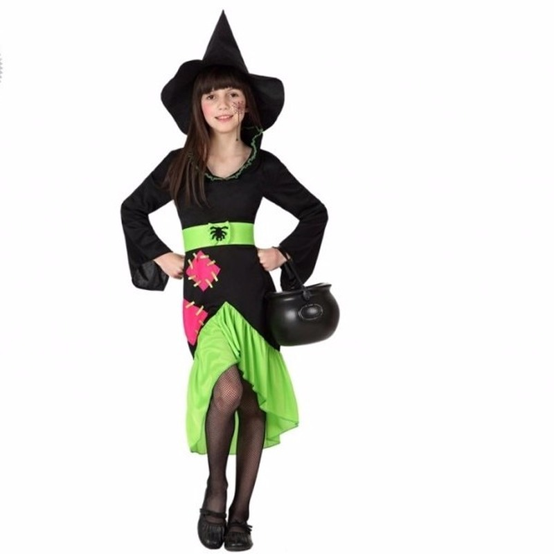 Halloween kostuums Geen Halloween Halloween meisjes heksenjurkje Matilda