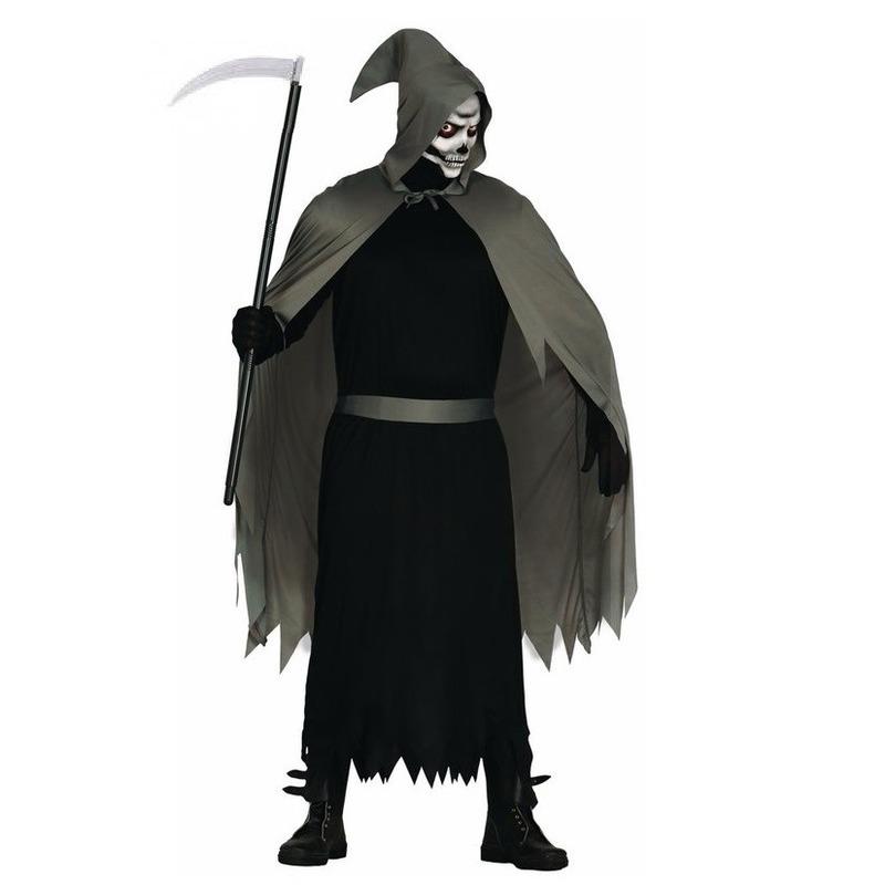 Halloween - Halloween skelet penumbra heren kostuum