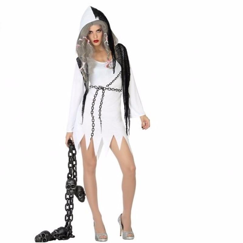 Halloween kostuums Geen Halloween Halloween spoken jurkje voor dames
