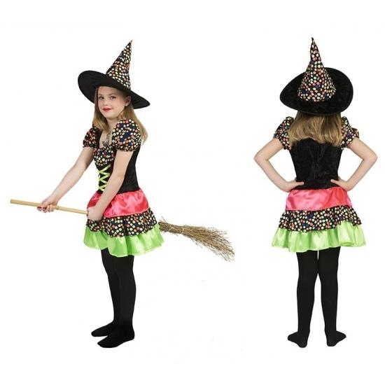 Carnavalskostuum winkel Halloween Heksen jurk voor meisjes Halloween kostuums