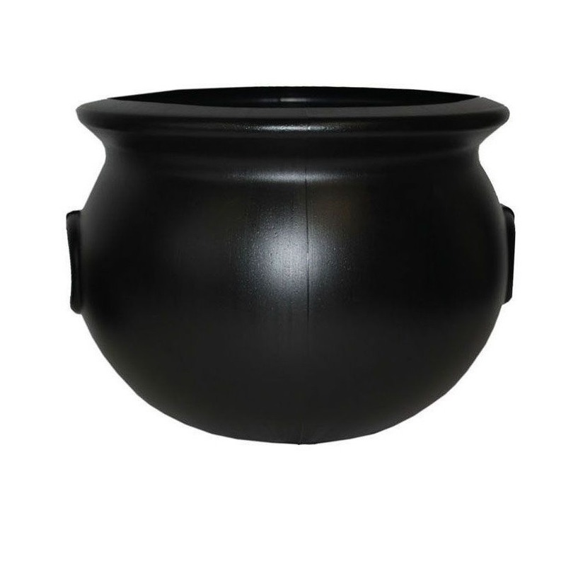 Halloween - Heksenketel zwart 38 cm