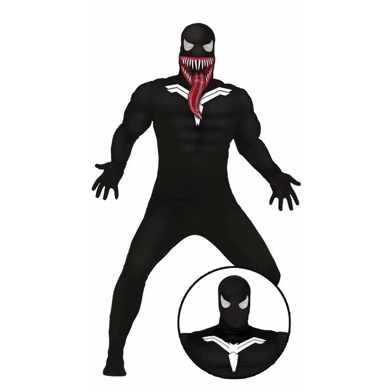 Halloween - Horror donkere superheld kostuum