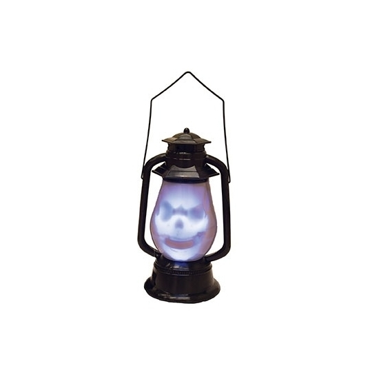 Halloween - Horror lantaarn met doodshoofd