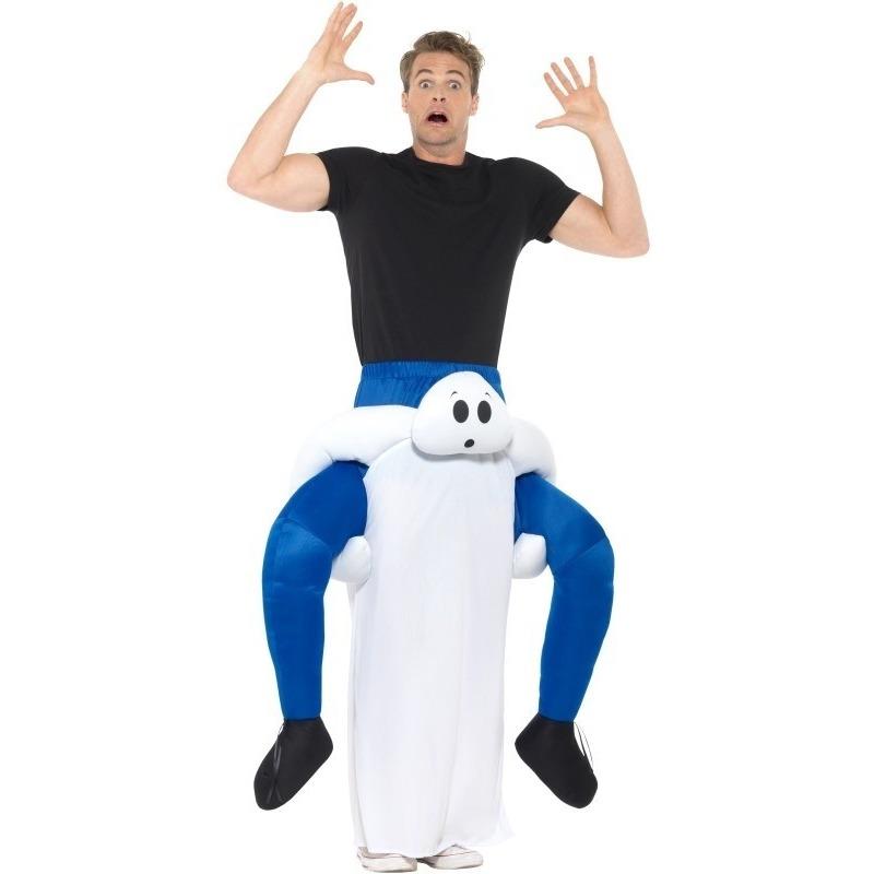Halloween - Instapkostuum spook voor volwassenen