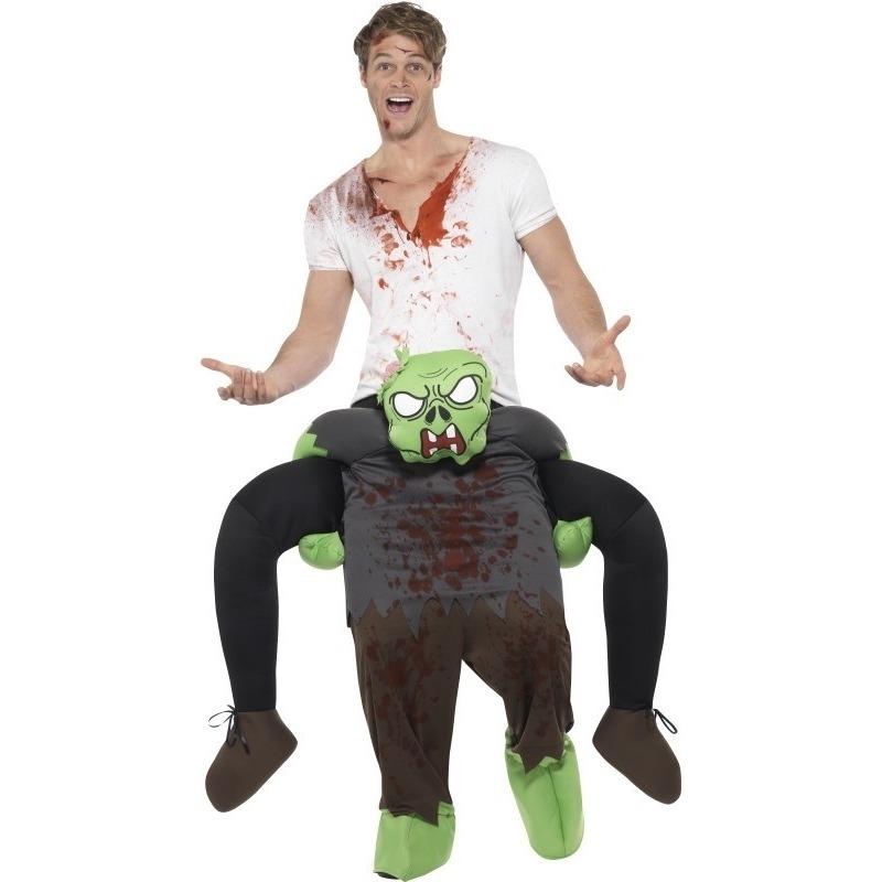 Halloween - Instapkostuum zombie voor volwassenen