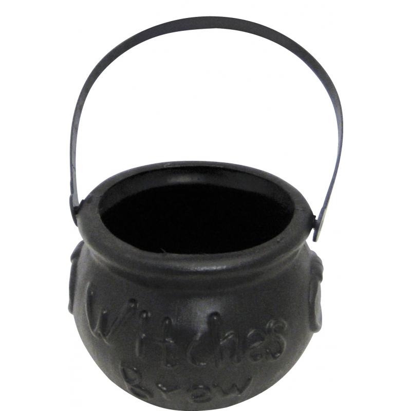 Halloween - Kleine zwarte heksenketel