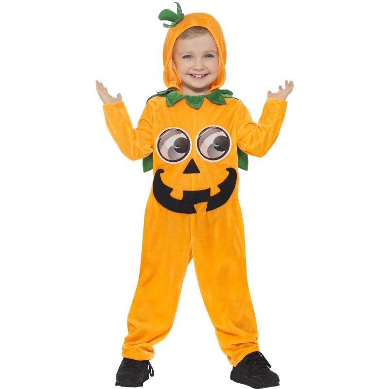 Halloween - Pompoen onesie voor peuters