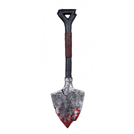 Halloween - Schop met bloed horror decoratie 60 cm