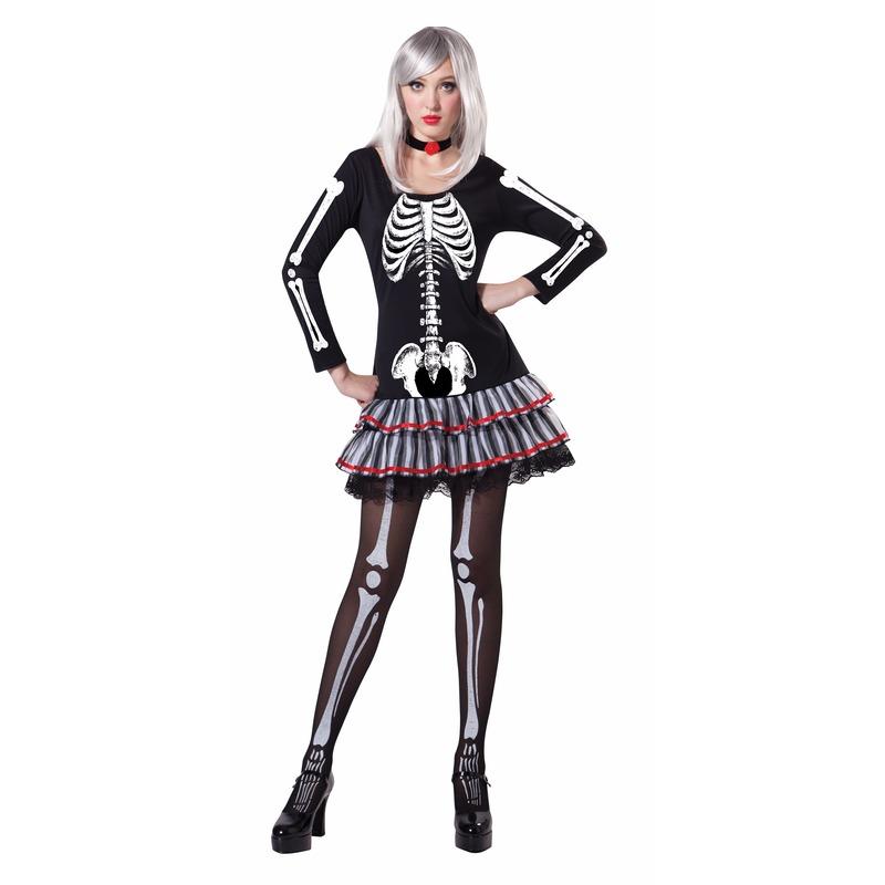 Halloween - Skelet verkleed kostuum voor dames
