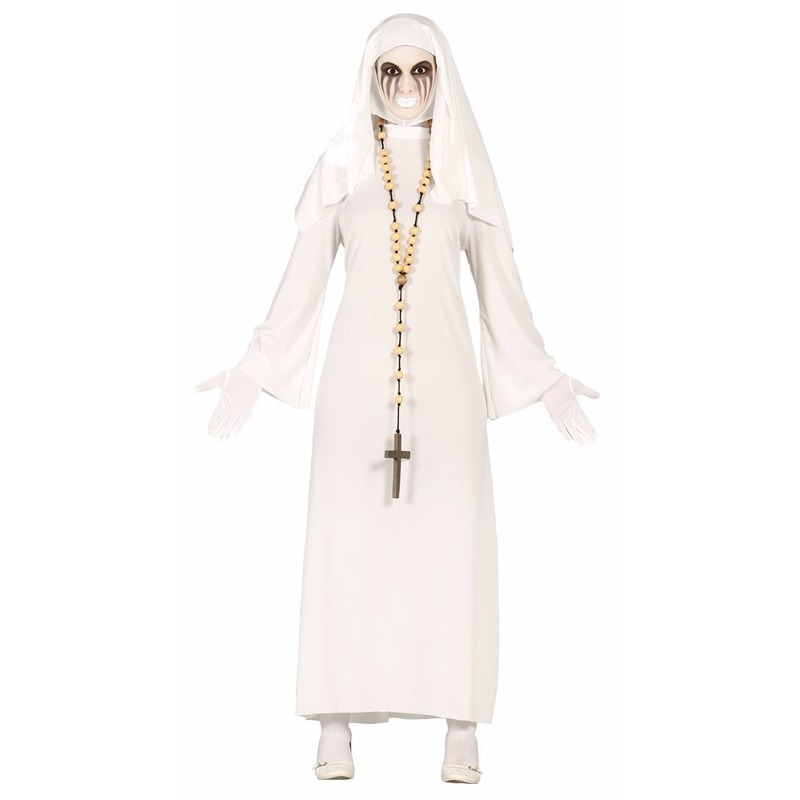 Halloween - Spookachtige nonnen kostuum voor dames