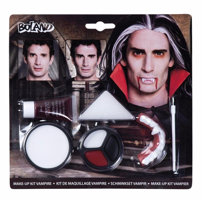 Halloween - Vampieren tanden en schmink