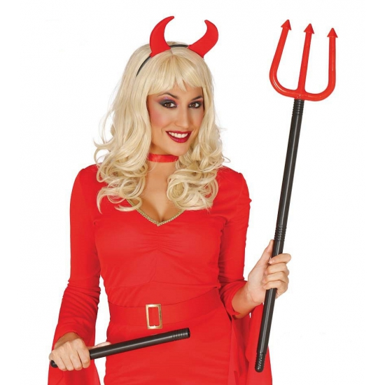 Halloween - Verstelbare duivelsvork 110 cm