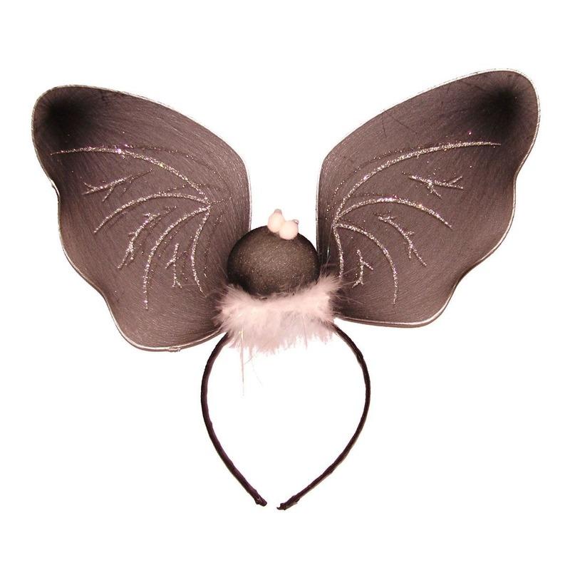 Halloween - Vleermuizen vleugels diadeem