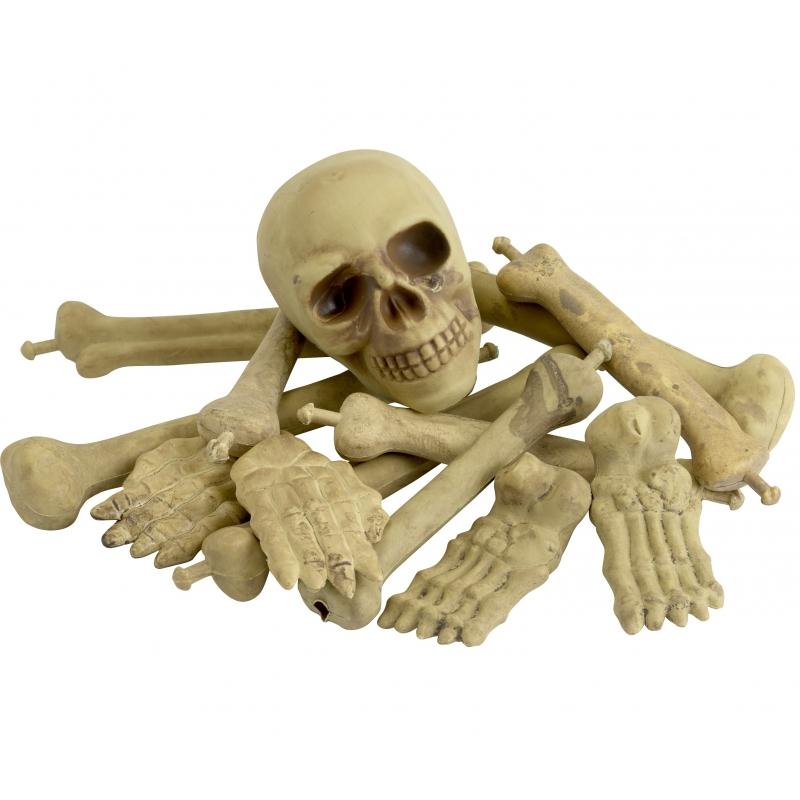 Halloween - Zak met botten