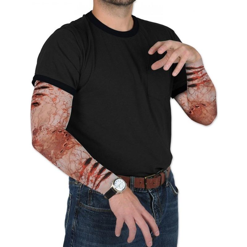 Halloween - Zombie Halloween verkleedaccessoire mouwen voor volwassenen