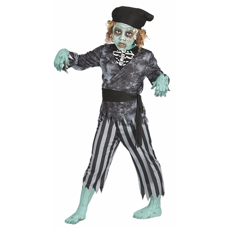 Halloween kostuums Geen Halloween Zombie piraten kostuum voor jongens