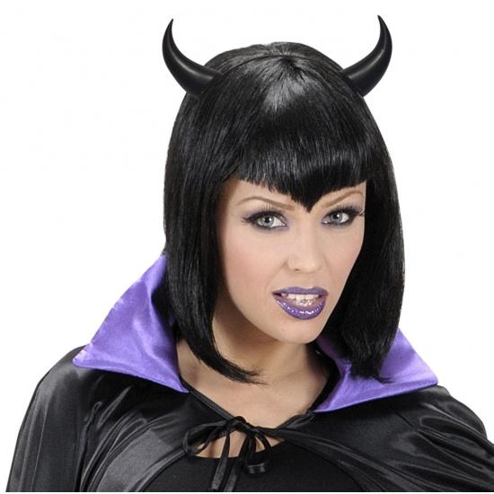 Halloween - Zwarte duivel hoorns