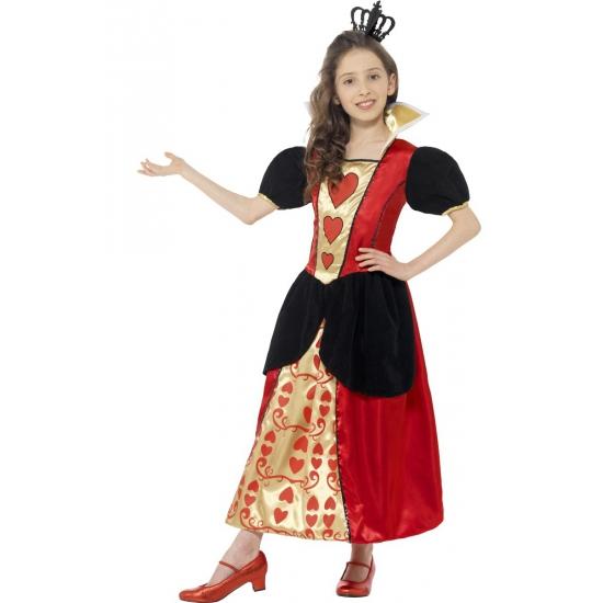 Smiffys Hartenvrouw jurk voor meisjes Fantasy en Sprookjes kostuums