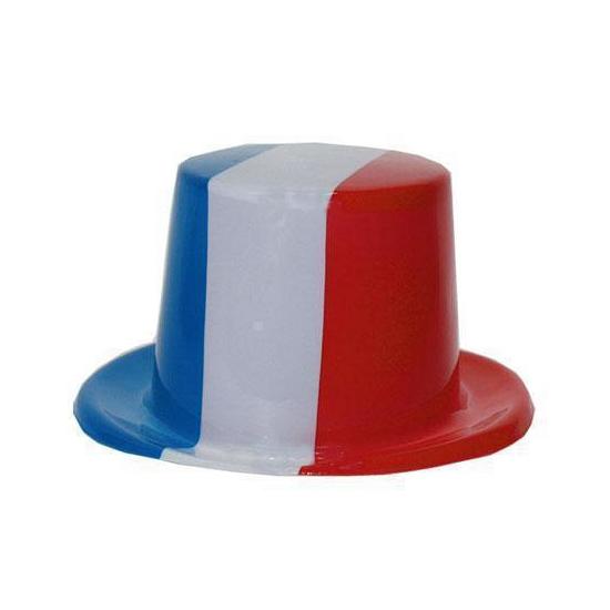 Carnavalskostuum winkel Hoge hoed Frankrijk Landen versiering en vlaggen