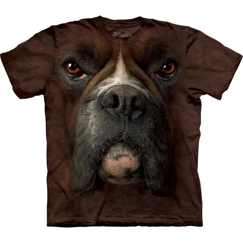Honden T shirt Boxer The Mountain nieuw