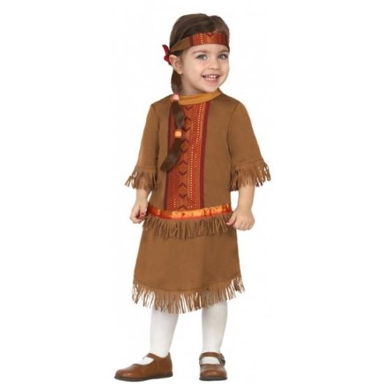 Geschiedenis kostuums Carnavalskostuum winkel Indianen jurkje voor peuters