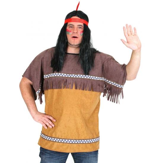 Indianen verkleed shirt