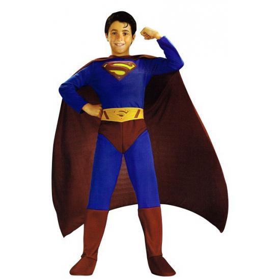 Superman Superhelden en Cartoon kostuums Beste kwaliteit Jongen