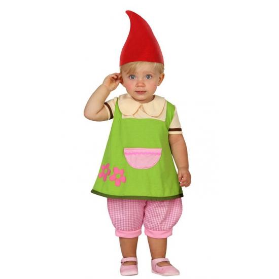 Fantasy en Sprookjes kostuums Kabouter jurkje voor peuters