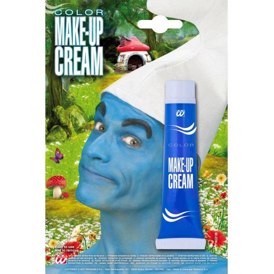 Carnavalskostuum winkel Kabouter schmink blauw Verkleedaccessoires
